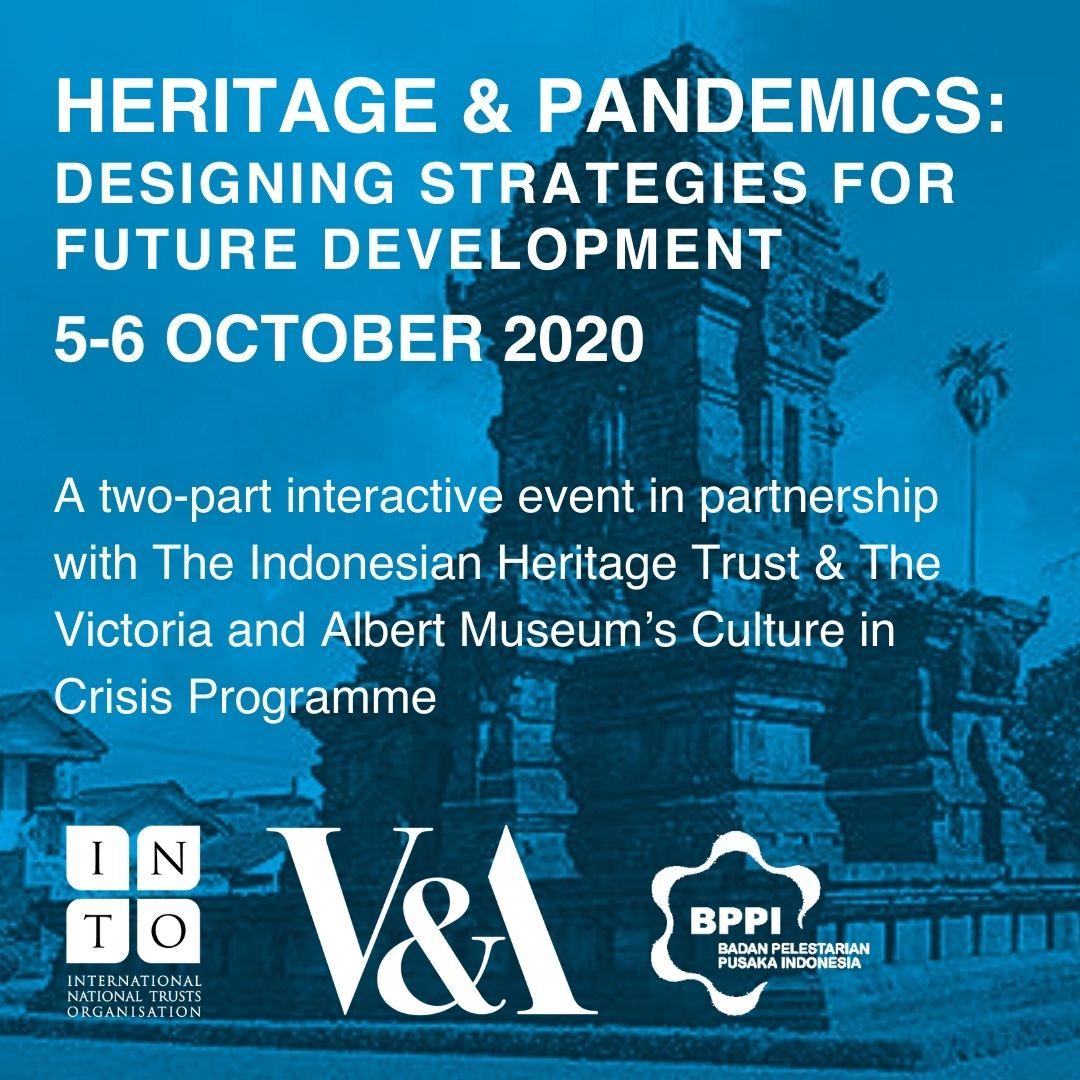 Heritage and pandemics webinar schedule