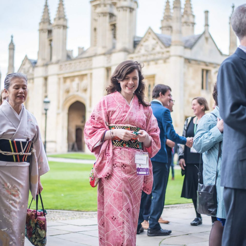 INTO Cambridge 2015 delegates at Kings College