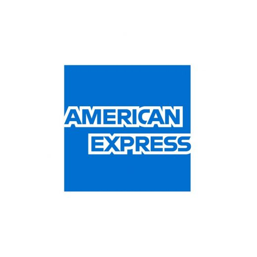 American Express logo for partnership projects