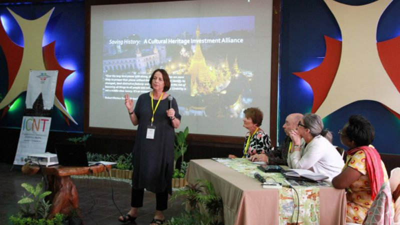 American Express panel at INTO Bali 2017