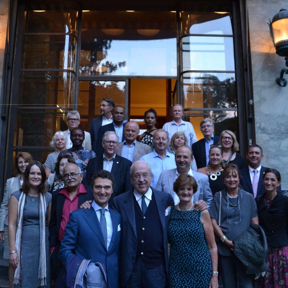 INTO Trustees at FAI's Villa Necchi in Milan
