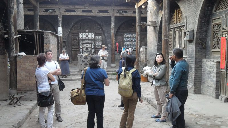 Visiting Pingyao with RYHF in 2012