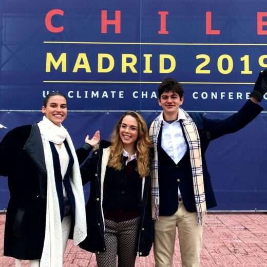 INTO global heritage delegates at COP 25 in Chile