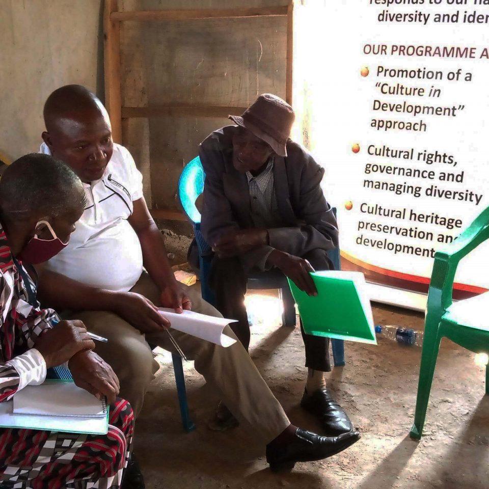 Community dialogue in Uganda