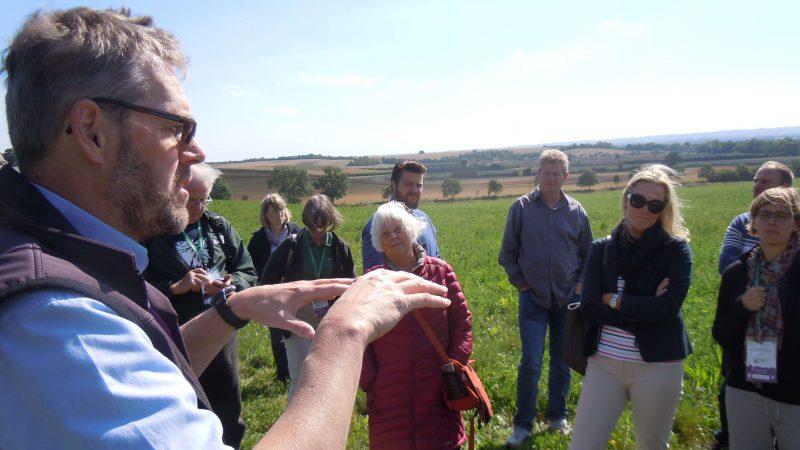 INTO Cambridge 2015 delegates at Wimpole Farm