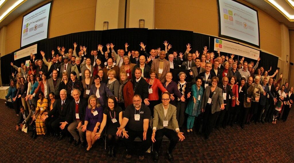 Delegates at the INTO Victoria 2011 Conference