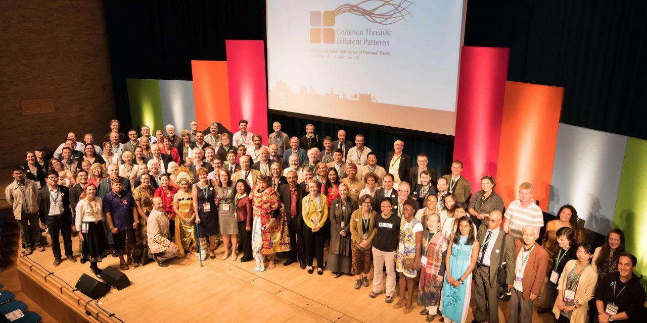 Conference delegates at INTO Cambridge 2015