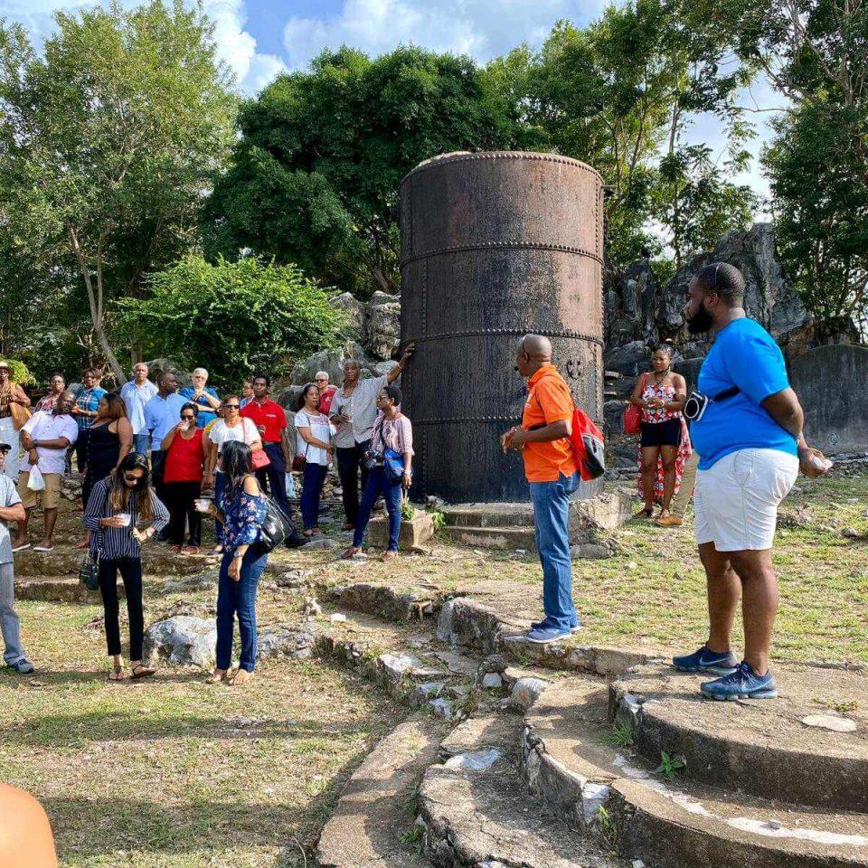INTO small grants in action in Trinidad