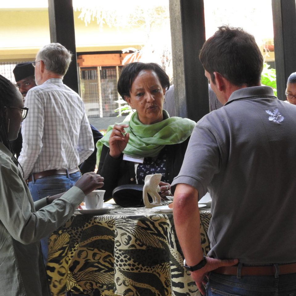 Knowledge exchange with fellow heritage trusts in Nairobi at INTO Africa