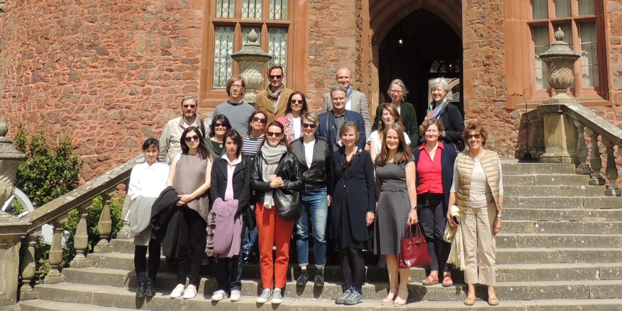 INTO Europe members from Belgium and Netherlands visiting Powis Castle with Innocastle