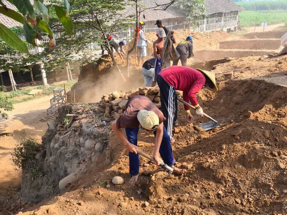 An INTO small grants project in action in Indonesia