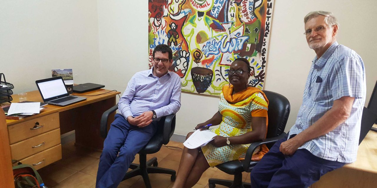 National Trust England Wales and Northern Ireland and Cross Cultural Foundation Uganda share knowledge