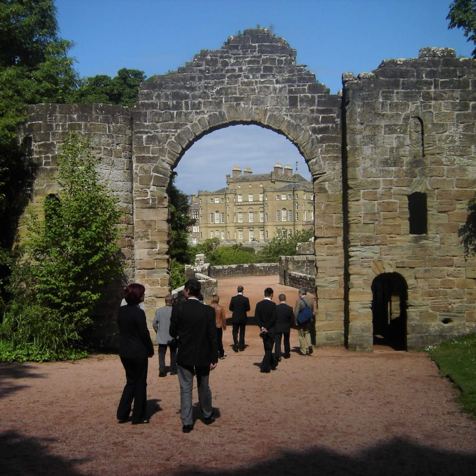 Central European Project visits Culzean National Trust for Scotland