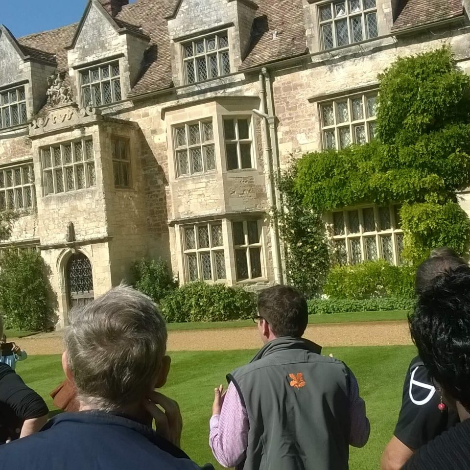 INTO Cambridge 2015 delegates at Anglesey Abbey