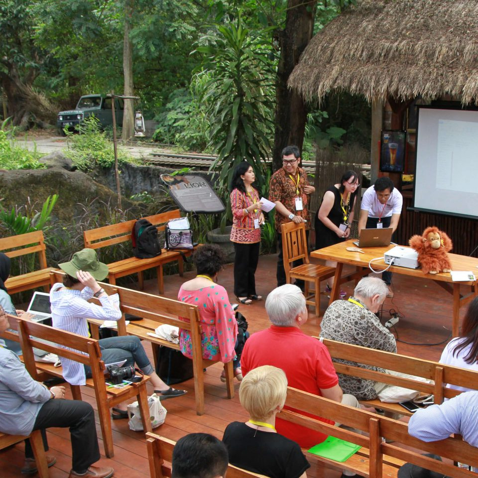 Open air workshops at INTO Bali 2017 Conference