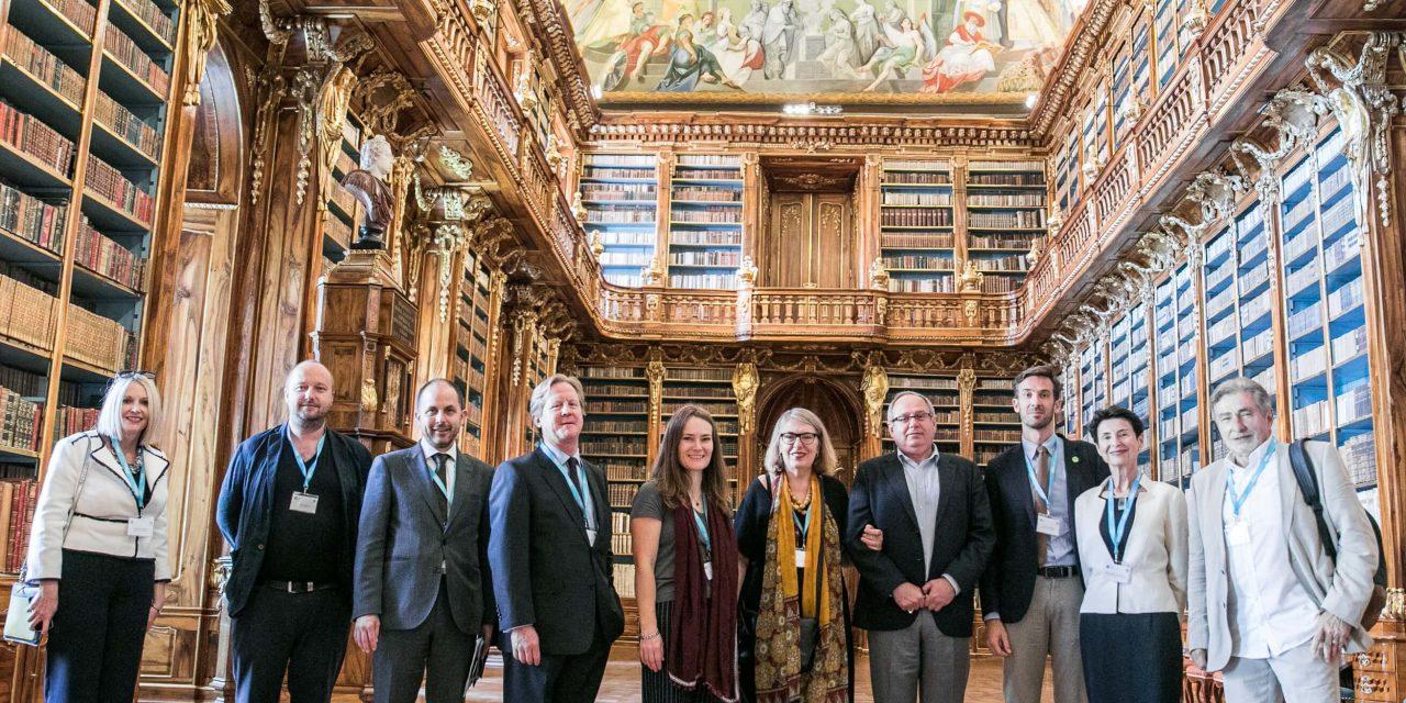 International National Trusts Organisation members in Prague
