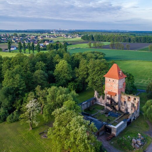 Chudow Castle, Poland