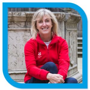 Keynote speaker: Hilary McGrady visiting Lyme Park, September 2020
